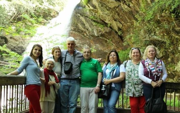 Turks at Dry Falls